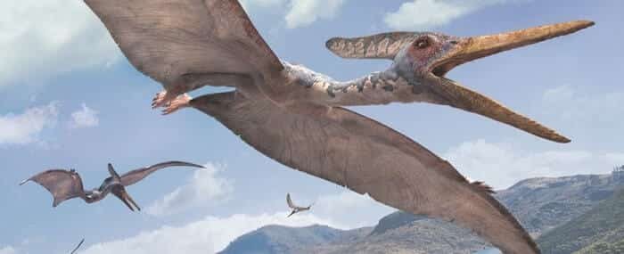 Hábitat natural del Pteranodon