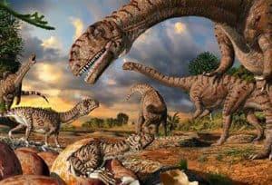 dinosaurios terrestres