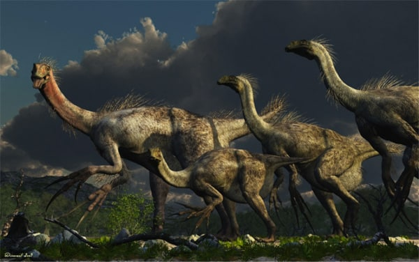 Dinosaurios Omnívoros