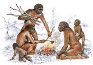 Homo erectus y el fuego