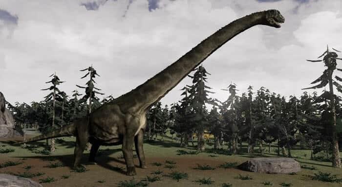sauroposeidon – dinosaurio gigante