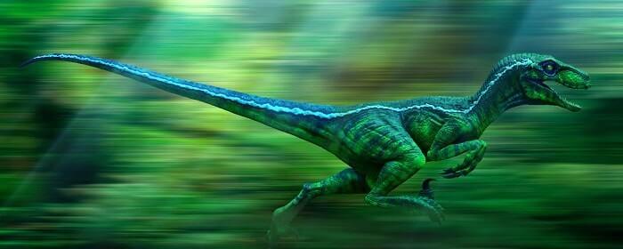 Hábitat natural del Velociraptor