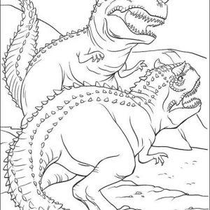carnotaurus para imprimir