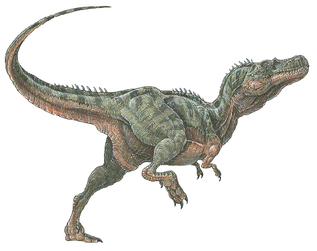 dinosaurio Alectrosaurus